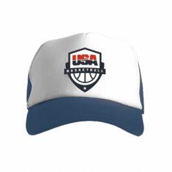 Дитяча кепка-тракер USA basketball