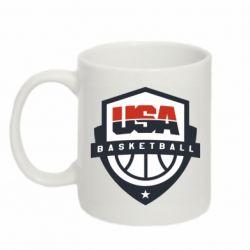 Кружка 320ml USA basketball