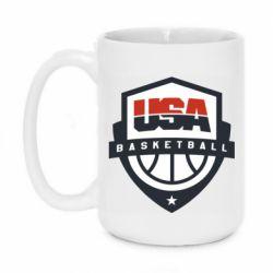 Кружка 420ml USA basketball