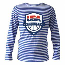 Тельняшка с длинным рукавом USA basketball