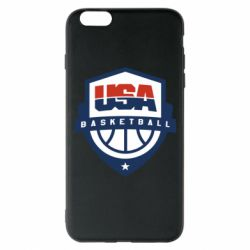 Чехол для iPhone 6 Plus/6S Plus USA basketball