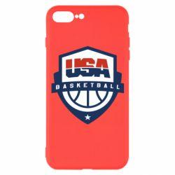 Чехол для iPhone 7 Plus USA basketball