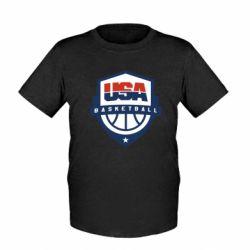Дитяча футболка USA basketball