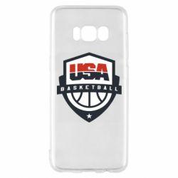 Чехол для Samsung S8 USA basketball