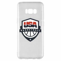 Чохол для Samsung S8+ USA basketball