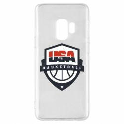 Чехол для Samsung S9 USA basketball