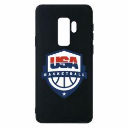 Чехол для Samsung S9+ USA basketball