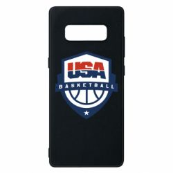 Чехол для Samsung Note 8 USA basketball