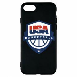 Чехол для iPhone 8 USA basketball