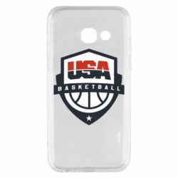 Чехол для Samsung A3 2017 USA basketball