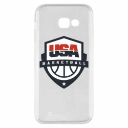 Чехол для Samsung A5 2017 USA basketball