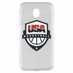 Чехол для Samsung J3 2017 USA basketball