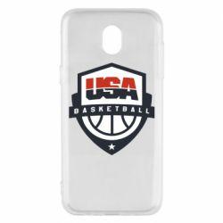 Чехол для Samsung J5 2017 USA basketball