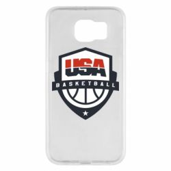 Чехол для Samsung S6 USA basketball