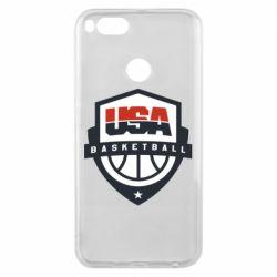 Чехол для Xiaomi Mi A1 USA basketball