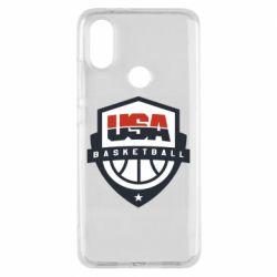 Чехол для Xiaomi Mi A2 USA basketball