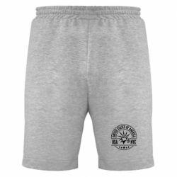 Мужские шорты USA NYC - FatLine