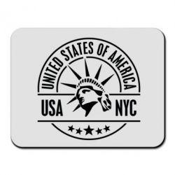 Коврик для мыши USA NYC - FatLine