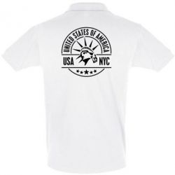 Футболка Поло USA NYC - FatLine