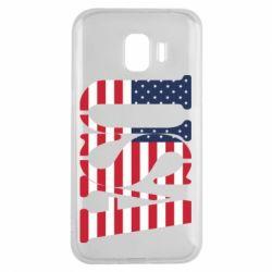 Чохол для Samsung J2 2018 USA