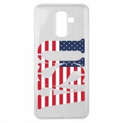 Чохол для Samsung J8 2018 USA