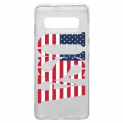 Чохол для Samsung S10+ USA