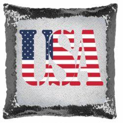 Подушка-хамелеон USA
