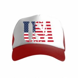 Дитяча кепка-тракер USA