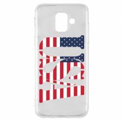 Чохол для Samsung A6 2018 USA