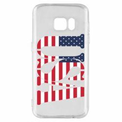 Чохол для Samsung S7 USA