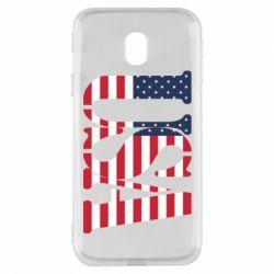 Чохол для Samsung J3 2017 USA