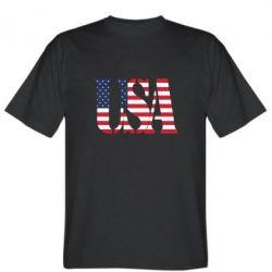 Мужская футболка USA - FatLine
