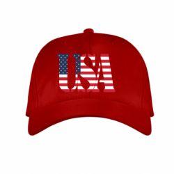 Детская кепка USA - FatLine