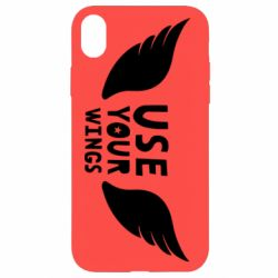 Чохол для iPhone XR Use your wings