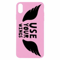 Чохол для iPhone Xs Max Use your wings