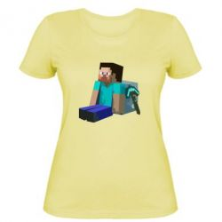 Женская футболка Уставший Стив - FatLine