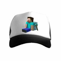 Дитяча кепка-тракер Втомлений Стів