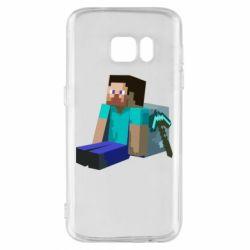 Чохол для Samsung S7 Втомлений Стів