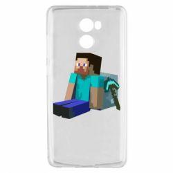 Чехол для Xiaomi Redmi 4 Уставший Стив