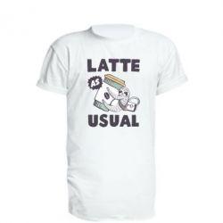 Подовжена футболка Usual milk