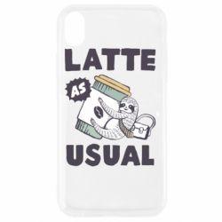 Чохол для iPhone XR Usual milk