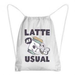 Рюкзак-мішок Usual milk