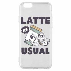 Чохол для iPhone 6/6S Usual milk