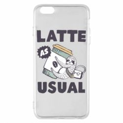 Чохол для iPhone 6 Plus/6S Plus Usual milk