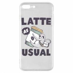 Чохол для iPhone 8 Plus Usual milk