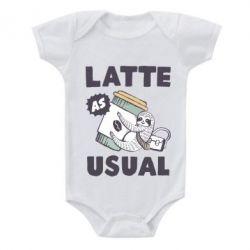 Дитячий бодік Usual milk