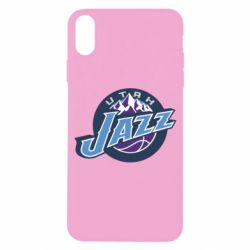 Чехол для iPhone X Utah Jazz - FatLine