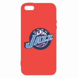 Чехол для iPhone5/5S/SE Utah Jazz - FatLine