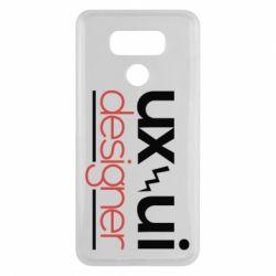 Чехол для LG G6 UX UI Designer - FatLine