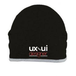 Шапка UX UI Designer
